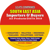 South East Asia - Importers & Buyers -All Products Data 2019