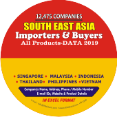 12,475 Importers & Buyers of  South East Asia (All Products) Data - In Excel Format