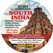 91,484 South India (All Trades)  Data - In Excel Format