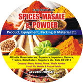Spices, Masale & Powder Product, Packing, Material Data