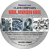 Steel, Stainless Steel Products & Equipments Data