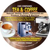 Tea & Coffee Products, Packing & Machine Data