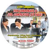 Top Corporate & Ltd. Companies (All India) Data