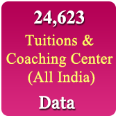 24,623 Tuition & Coaching Centres (All India) Data - In Excel Format