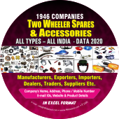 Two Wheeler Spares & Accessories All Types- All India