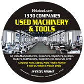 Used Machinery &  Tools (All India) Data