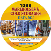 1,069 Warehouses & Cold Storage Service Data - In Excel Format