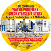 Water Purifier, RO System, Products & Spares