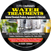 Water Related Treatments Chemicals Data