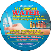 7,771 Water Related Treatments Chemicals Data - In Excel Format