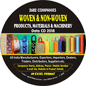 Woven & Non Woven  Products & Materials Data