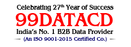 99DataCd : A Biggest Range of Business & Industrial Data in India